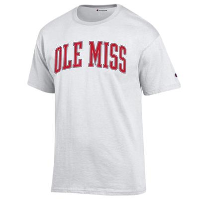 ARCHED OLE MISS BASIC TEE
