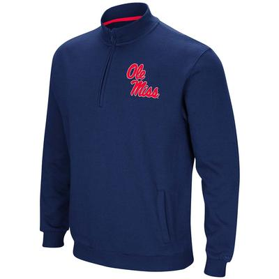 OLE MISS PLAYBOOK QTR ZIP FLEECE