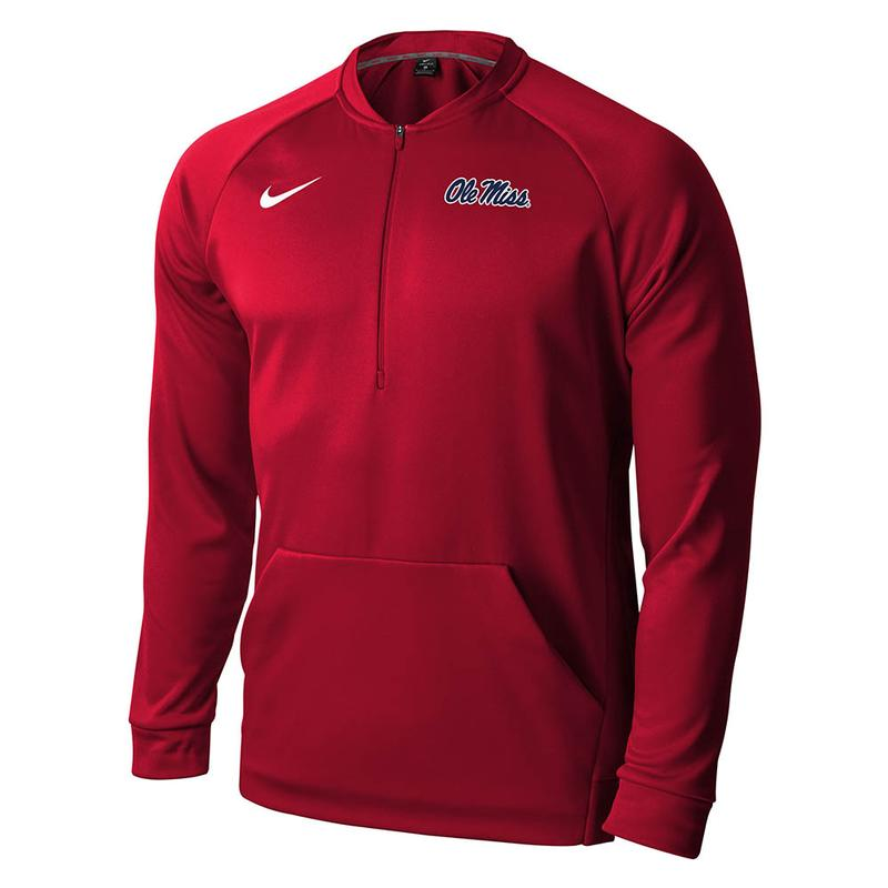 Ole Miss Qtr Zip Therma Fit