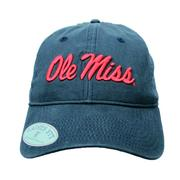 LADIES OM GARMENT WASHED CAP