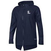 F18 WOMENS LW FULL ZIP HOOD NAVY