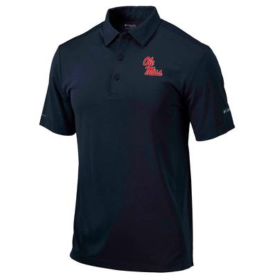 YOUTH OLE MISS DRIVE POLO NAVY