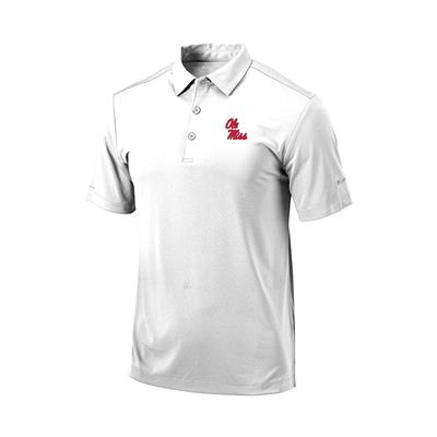 YOUTH OLE MISS DRIVE POLO WHITE
