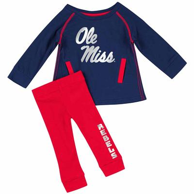 INF GIRLS NICE KICK TUNIC SET