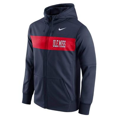 M THERMA FIT FLEECE HOODIE FZ