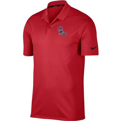 OM NIKE DRY VICTORY POLO SOLID UNIV_RED