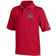YTH LANDSHARK PERFORMANCE POLO RED
