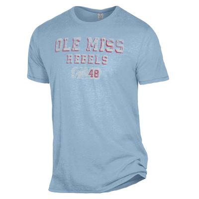OLE MISS REBELS THE KEEPER TEE BLUE_SKY