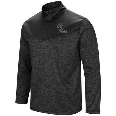 Cougars Blackout Qtr Zip
