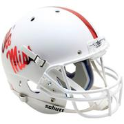 OLE MISS WHITE REP HELMET