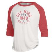 OLE MISS 1848 BASEBALL TEE