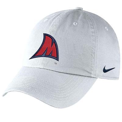 M FIN CAMPUS CAP WHITE