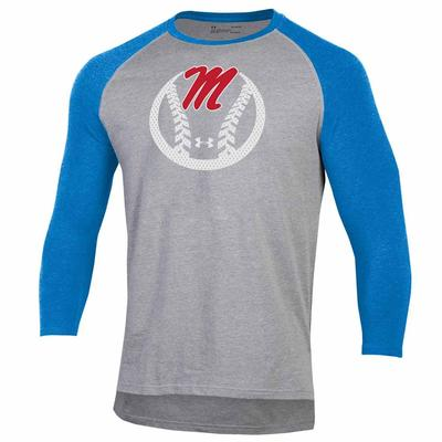 UA MENS BASEBALL TEE