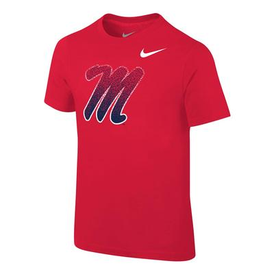 BOYS SS CORE M TEE RED