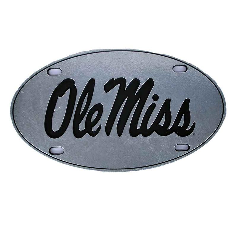 Ole Miss Oval License Plate