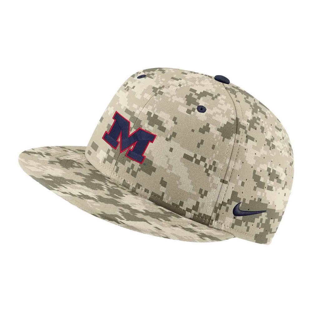 Camo M Aero Baseball Cap