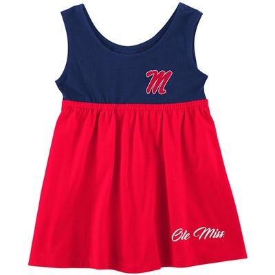 OM BERLIN INFANT GIRLS DRESS RED