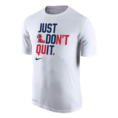 SS JUST DONT QUIT LEGEND TEE WHITE