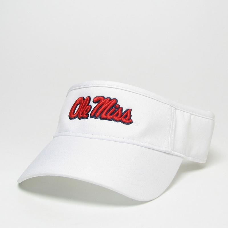 Ole Miss Cool Fit Adj Visor