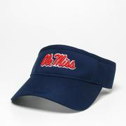a5393b18a2287 SALE OLE MISS CFV COOL FIT VISOR LEGACY ATHLETIC ...