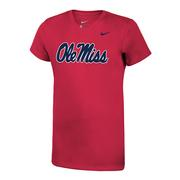 GIRLS OLE MISS LEGEND TEE