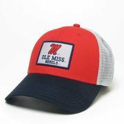 c8e3f95ff2bf5 LEGACY ATHLETIC OLE MISS ROADIE TRUCKER CAP.  26.00  20.80. SALE M OMR MID  PRO SNAPBACK CAP