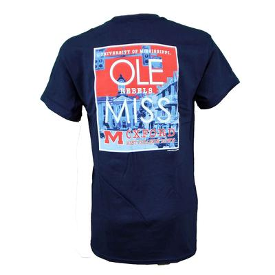 OLE MISS BEST COLLEGE TOWN TEE