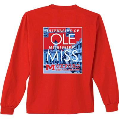 LS OM BEST COLLEGE TOWN TEE