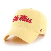 OLE MISS MAIZE CLEAN UP CAP