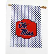 GINGHAM OLE MISS HOUSE FLAG
