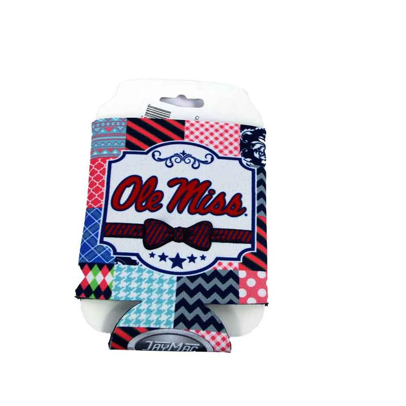 Quilted Ole Miss Can Hugger