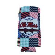 QUILTED OM 12OZ ENERGY COOZIE