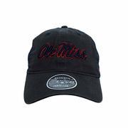 OLE MISS RAVEN CAP