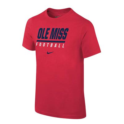 OLE MISS FOOTBALL CORE TEE
