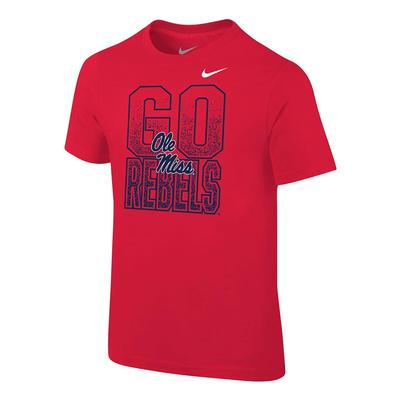 TODDLER GO REBELS CORE TEE RED
