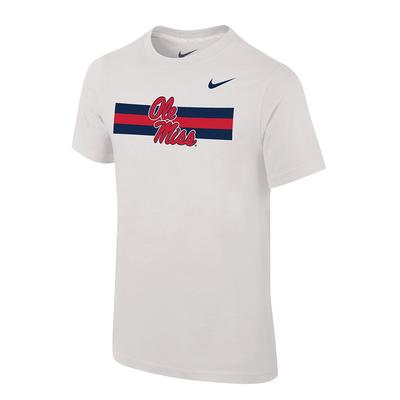 OLE MISS STRIPES CORE TEE