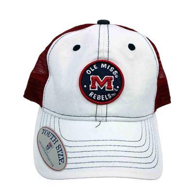 YOUTH CIRCLE OMR MESH CAP WHITE