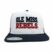 low priced 39e2e d0aea NEW OLE MISS REBELS MESH CAP