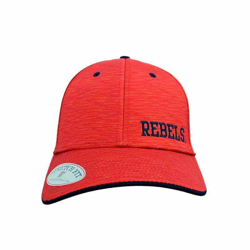 Rebels Ole Miss Flex Cap
