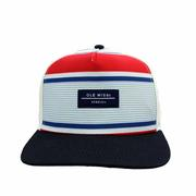 SUBLIMATED 5 PANEL FLAT BILL