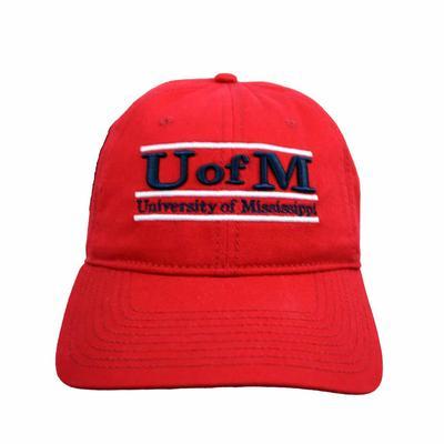 U OF M CLASSIC RELAXED ADJ CAP
