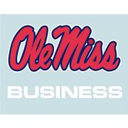 5IN OLE MISS BUSINESS DECAL
