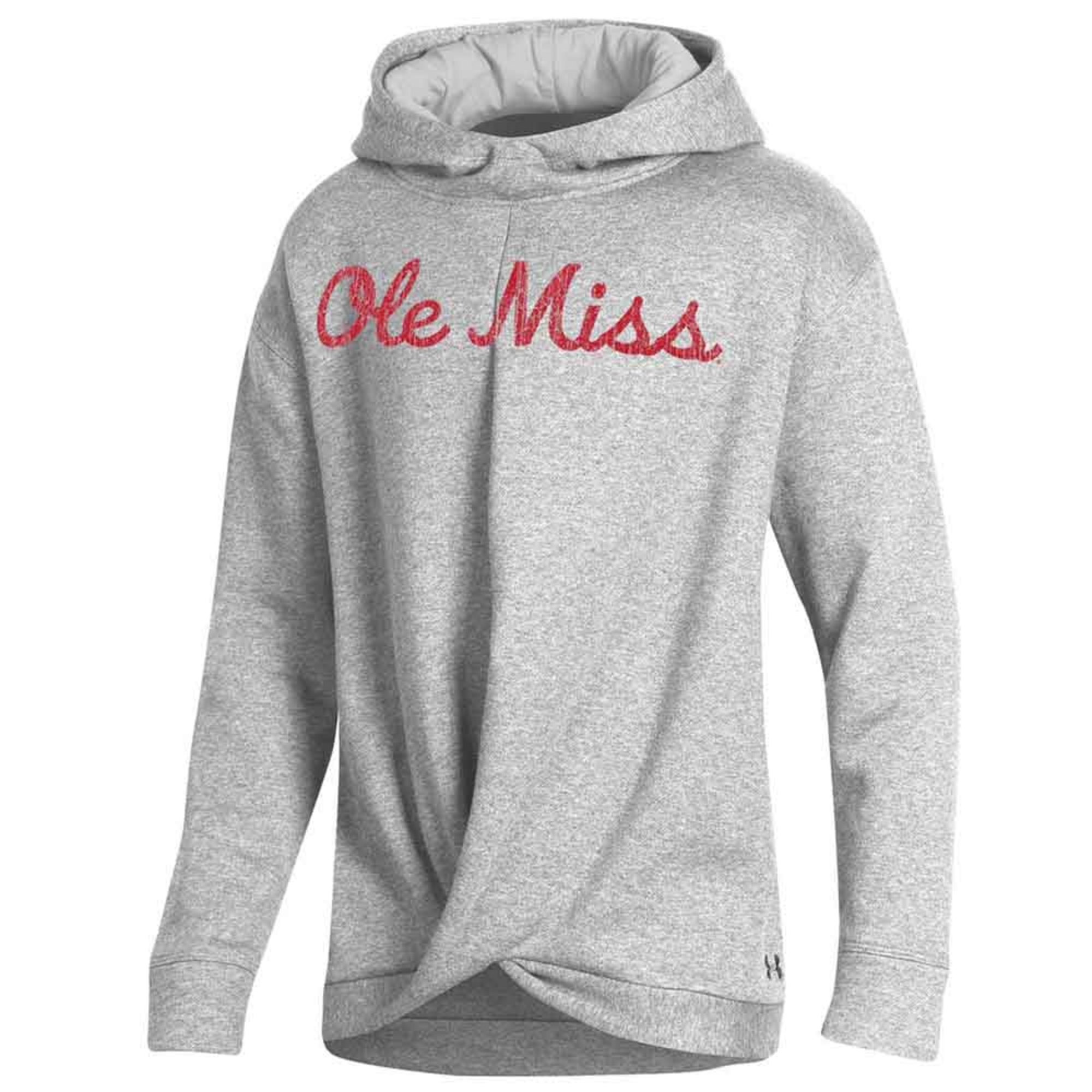 F19 GIRLS OLE MISS SMU ALL DAY FLEECE WRAP