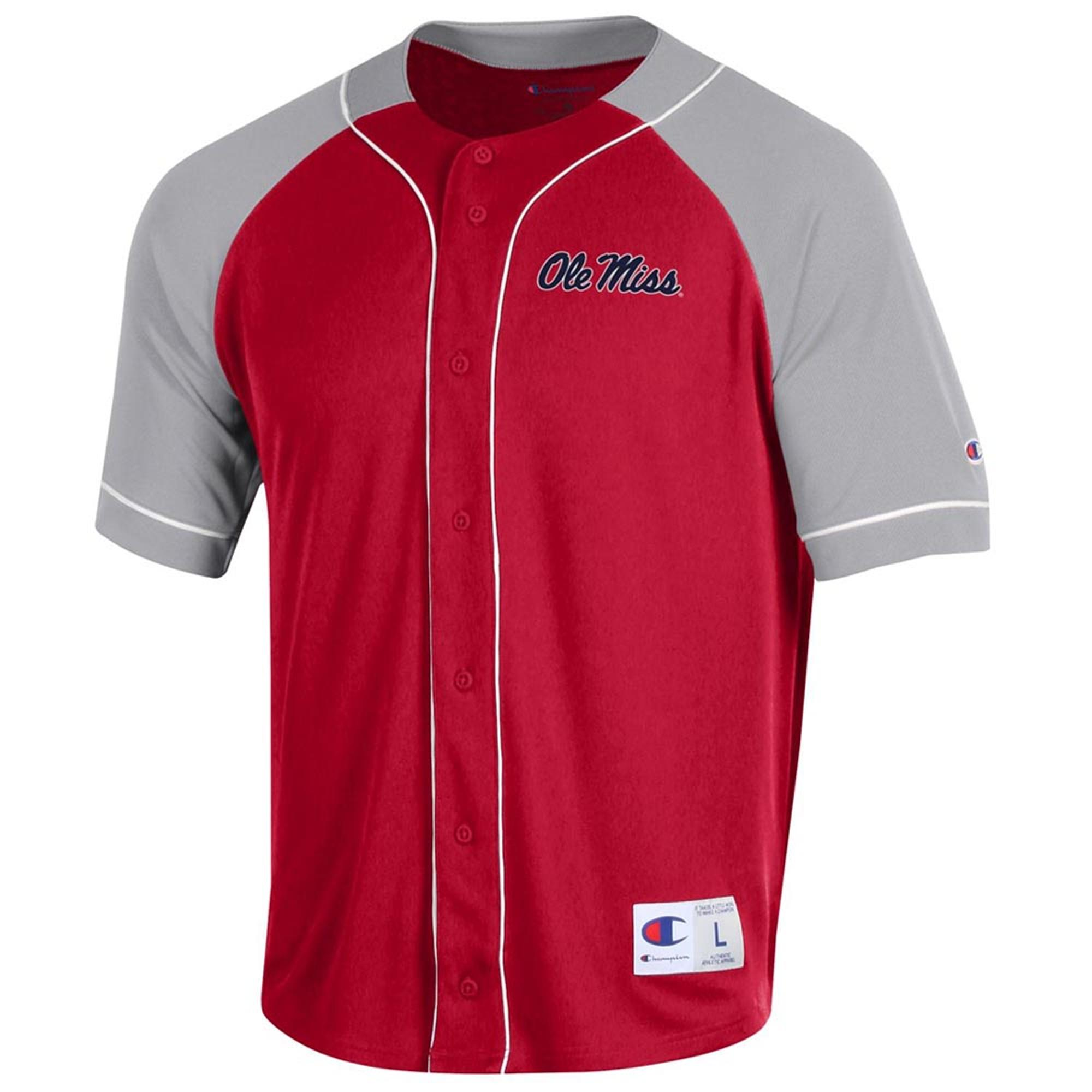 SMU OLE MISS BAEBALL JERSEY SHIRT