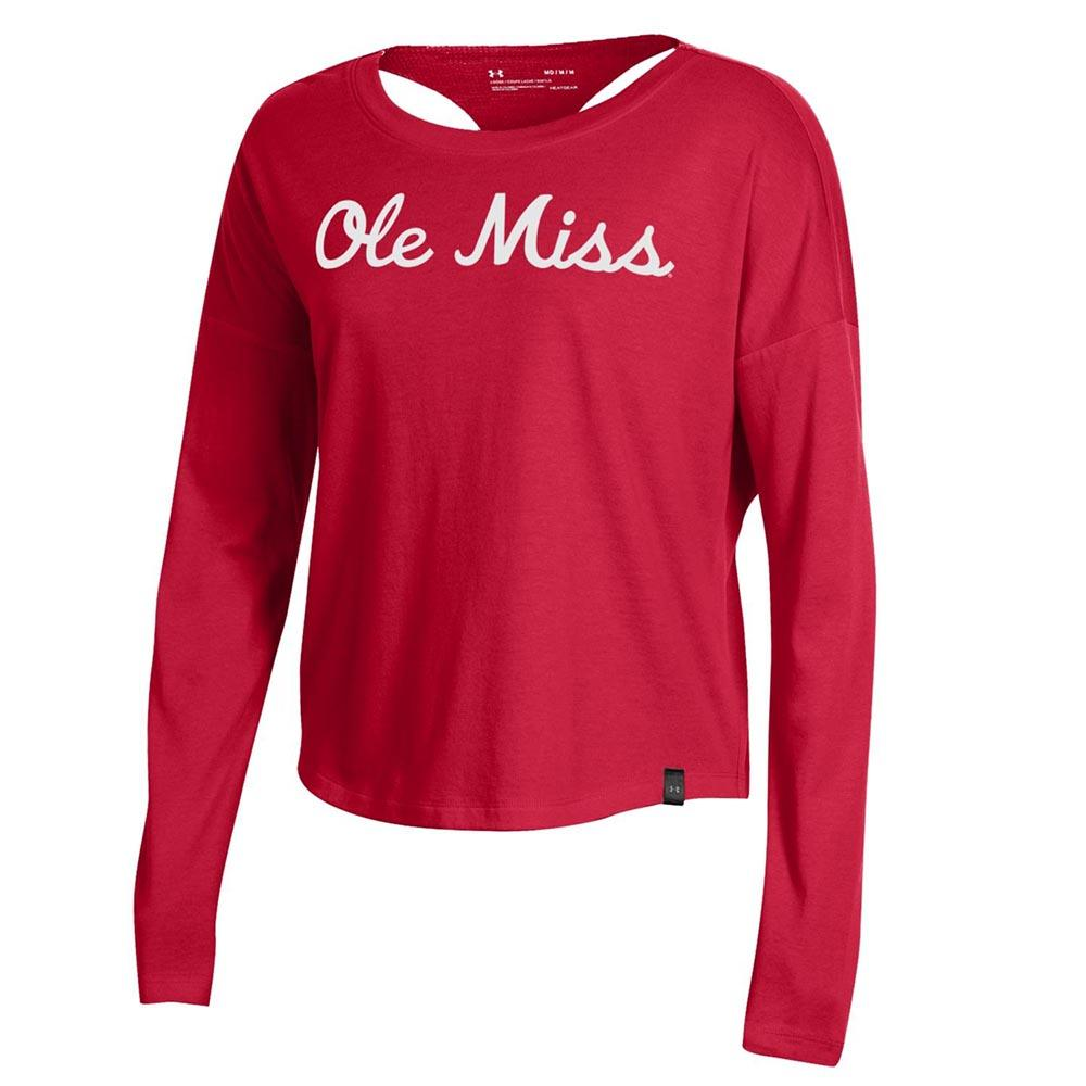 LS F19 WOMENS SMU ASCEND TEE