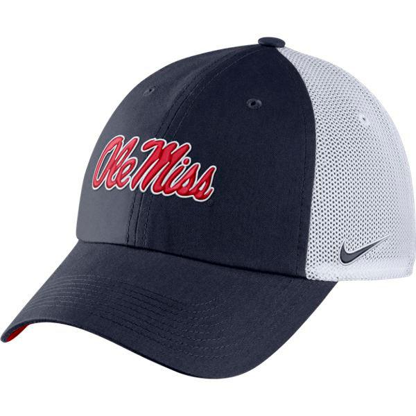 Nike Ole Miss College Heritage86 Trucker Hat