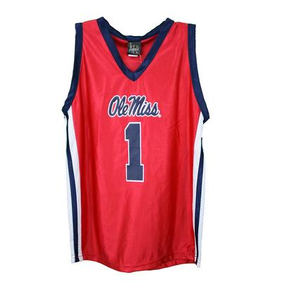 YOUTH OLE MISS BASKETBALL JERSEY