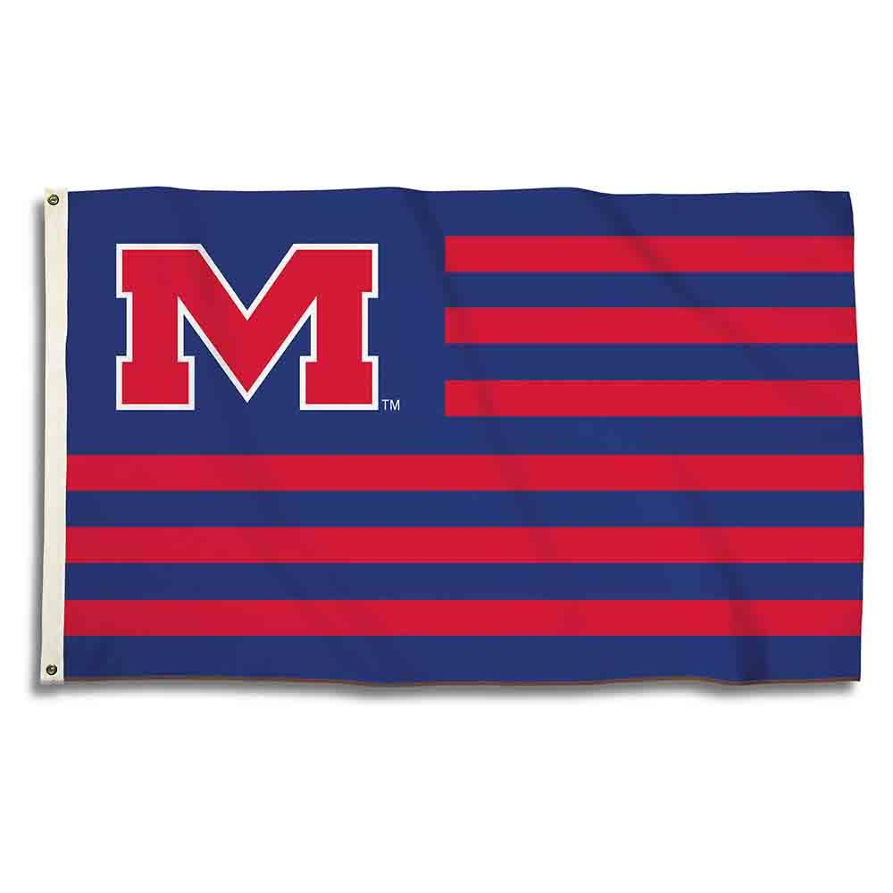3x5 Om Stripes Flag