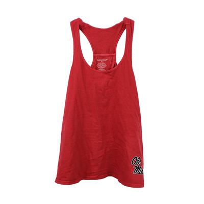GIRLS VINTAGE CHARM TANK RED