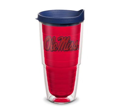 OLE MISS REBELS LOGO EMBLEM WITH TRAVEL LID
